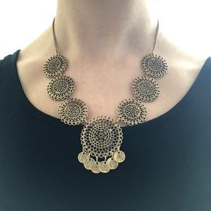 Funky Gold Necklace